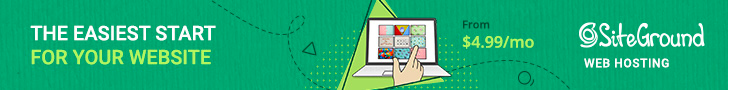 siteground web hosting, domain and website builder
